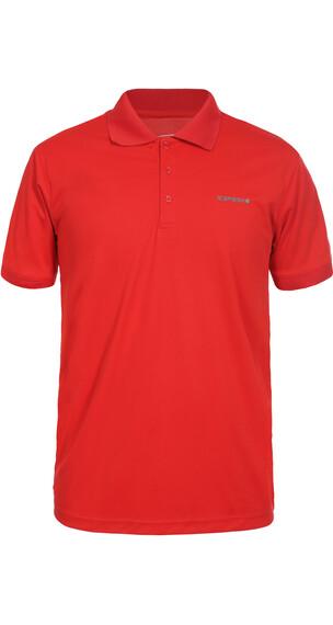 Icepeak Kyan Polo Shirt Men coral red